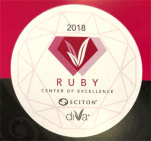 2018 diva ruby excellence award small