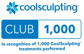 Coolsculpting Club 1000 Treatments Performed