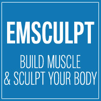 emsculpt treatment button