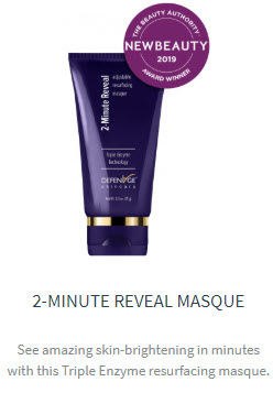 2 minute reveal masque defenage