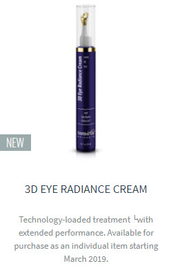 3d eye radiance cream defenage