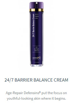 24/7 barrier balance cream defenage