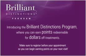 Brilliant Distictions reward program