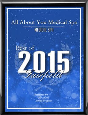 all about you medical spa best of fairfield award 2015