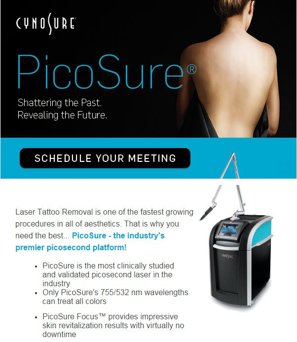 Picosure laser tatto removal treatment in Fairfield, CT