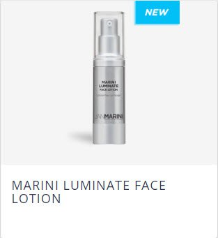 Jan Marini Skin care Products: Marini Luminate Face Lotion