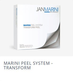 Jan Marini Skin care Products: Marini Peel System Transform