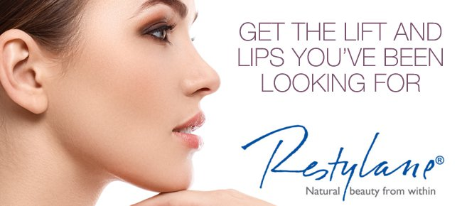Restylane dermal filler treatment in Fairfield